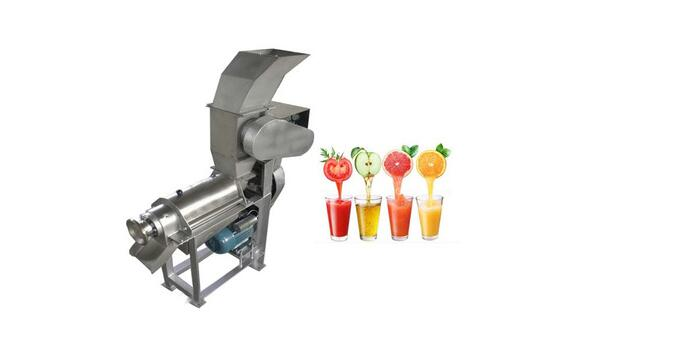 Why is the stainless steel spiral juicer?